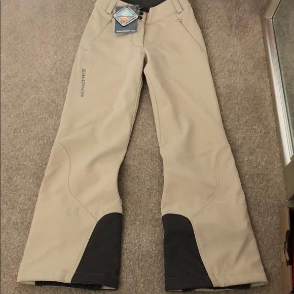 Women's Salomon Ski Pants NWT